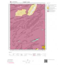 I35c3 Paftası 1/25.000 Ölçekli Vektör Jeoloji Haritası
