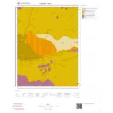 I35d1 Paftası 1/25.000 Ölçekli Vektör Jeoloji Haritası