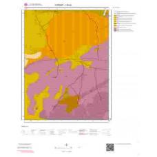 I35d2 Paftası 1/25.000 Ölçekli Vektör Jeoloji Haritası