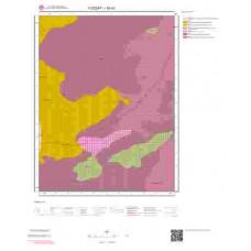 I35d3 Paftası 1/25.000 Ölçekli Vektör Jeoloji Haritası