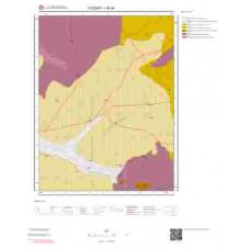 I35d4 Paftası 1/25.000 Ölçekli Vektör Jeoloji Haritası