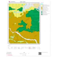 I36a1 Paftası 1/25.000 Ölçekli Vektör Jeoloji Haritası