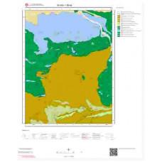 I36a2 Paftası 1/25.000 Ölçekli Vektör Jeoloji Haritası