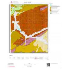 I36a3 Paftası 1/25.000 Ölçekli Vektör Jeoloji Haritası