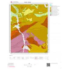 I36a4 Paftası 1/25.000 Ölçekli Vektör Jeoloji Haritası