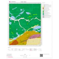 I36b1 Paftası 1/25.000 Ölçekli Vektör Jeoloji Haritası