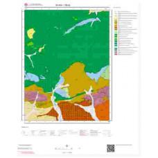 I36b2 Paftası 1/25.000 Ölçekli Vektör Jeoloji Haritası