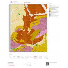 I36b3 Paftası 1/25.000 Ölçekli Vektör Jeoloji Haritası