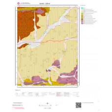 I36b4 Paftası 1/25.000 Ölçekli Vektör Jeoloji Haritası