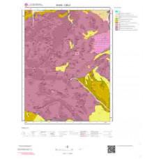 I36c1 Paftası 1/25.000 Ölçekli Vektör Jeoloji Haritası