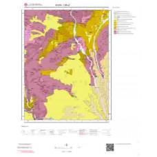 I 36-c2 Paftası 1/25.000 ölçekli Jeoloji Haritası