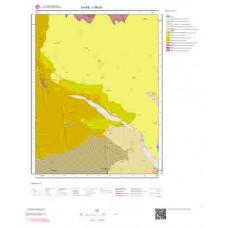 I 36-c4 Paftası 1/25.000 ölçekli Jeoloji Haritası