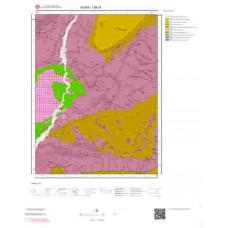 I 36-d1 Paftası 1/25.000 ölçekli Jeoloji Haritası