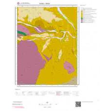 I 36-d3 Paftası 1/25.000 ölçekli Jeoloji Haritası