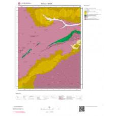 I 36-d4 Paftası 1/25.000 ölçekli Jeoloji Haritası