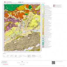 I37 Paftası 1/100.000 Ölçekli Vektör Jeoloji Haritası