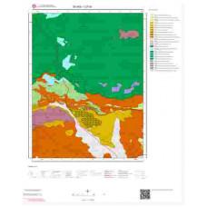 I37a1 Paftası 1/25.000 Ölçekli Vektör Jeoloji Haritası