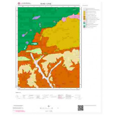 I37a2 Paftası 1/25.000 Ölçekli Vektör Jeoloji Haritası
