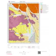 I37a3 Paftası 1/25.000 Ölçekli Vektör Jeoloji Haritası