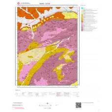 I37a4 Paftası 1/25.000 Ölçekli Vektör Jeoloji Haritası
