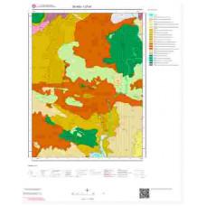I37b1 Paftası 1/25.000 Ölçekli Vektör Jeoloji Haritası