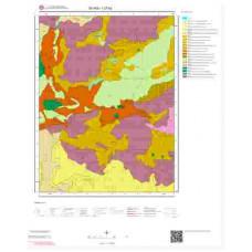 I37b2 Paftası 1/25.000 Ölçekli Vektör Jeoloji Haritası