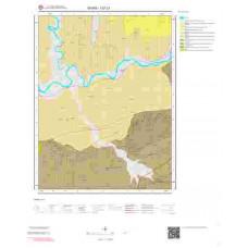 I37c1 Paftası 1/25.000 Ölçekli Vektör Jeoloji Haritası