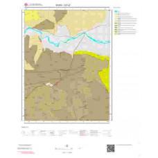 I37c2 Paftası 1/25.000 Ölçekli Vektör Jeoloji Haritası