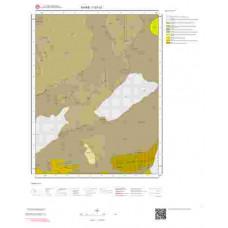 I37c3 Paftası 1/25.000 Ölçekli Vektör Jeoloji Haritası