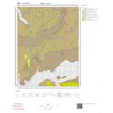 I37c4 Paftası 1/25.000 Ölçekli Vektör Jeoloji Haritası