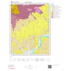 I37d1 Paftası 1/25.000 Ölçekli Vektör Jeoloji Haritası