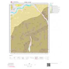 I37d4 Paftası 1/25.000 Ölçekli Vektör Jeoloji Haritası