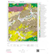I38 Paftası 1/100.000 Ölçekli Vektör Jeoloji Haritası