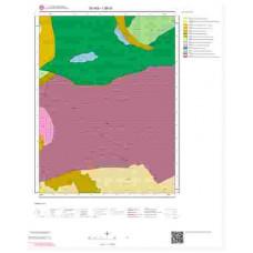 I38a1 Paftası 1/25.000 Ölçekli Vektör Jeoloji Haritası