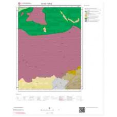 I38a2 Paftası 1/25.000 Ölçekli Vektör Jeoloji Haritası