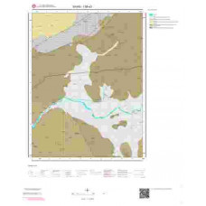 I38a3 Paftası 1/25.000 Ölçekli Vektör Jeoloji Haritası