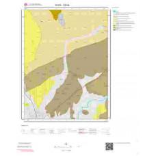 I38a4 Paftası 1/25.000 Ölçekli Vektör Jeoloji Haritası
