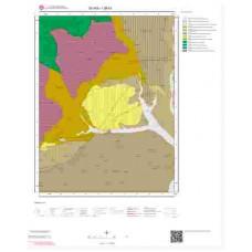 I38b1 Paftası 1/25.000 Ölçekli Vektör Jeoloji Haritası