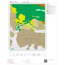 I38b2 Paftası 1/25.000 Ölçekli Vektör Jeoloji Haritası