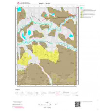 I38b3 Paftası 1/25.000 Ölçekli Vektör Jeoloji Haritası