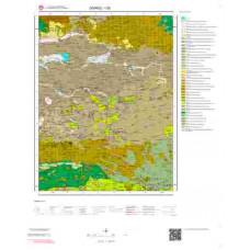 I39 Paftası 1/100.000 Ölçekli Vektör Jeoloji Haritası