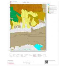 I39a1 Paftası 1/25.000 Ölçekli Vektör Jeoloji Haritası