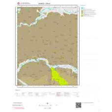 I39a3 Paftası 1/25.000 Ölçekli Vektör Jeoloji Haritası