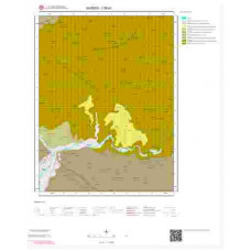 I39b1 Paftası 1/25.000 Ölçekli Vektör Jeoloji Haritası