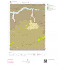 I39b3 Paftası 1/25.000 Ölçekli Vektör Jeoloji Haritası