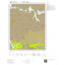 I39b4 Paftası 1/25.000 Ölçekli Vektör Jeoloji Haritası