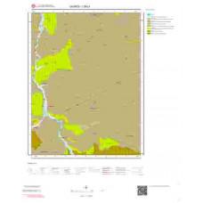 I39c1 Paftası 1/25.000 Ölçekli Vektör Jeoloji Haritası