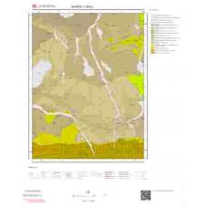 I 39-d1 Paftası 1/25.000 ölçekli Jeoloji Haritası
