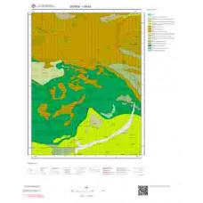 I39d3 Paftası 1/25.000 Ölçekli Vektör Jeoloji Haritası