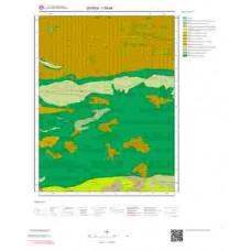 I39d4 Paftası 1/25.000 Ölçekli Vektör Jeoloji Haritası